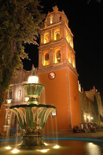 Fountain in San Luis de Potosi, Mexico