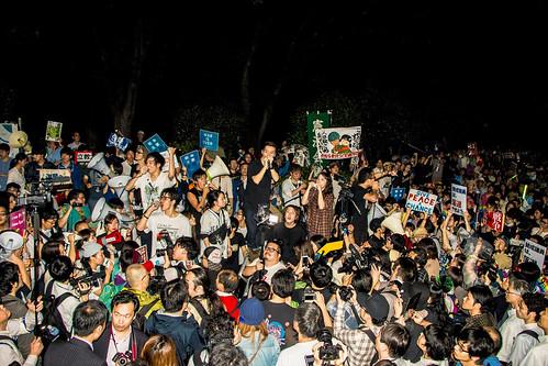 映画『わたしの自由について~SEALDs 2015~』より ©2016 sky--key factory, Takashi NISHIHARA