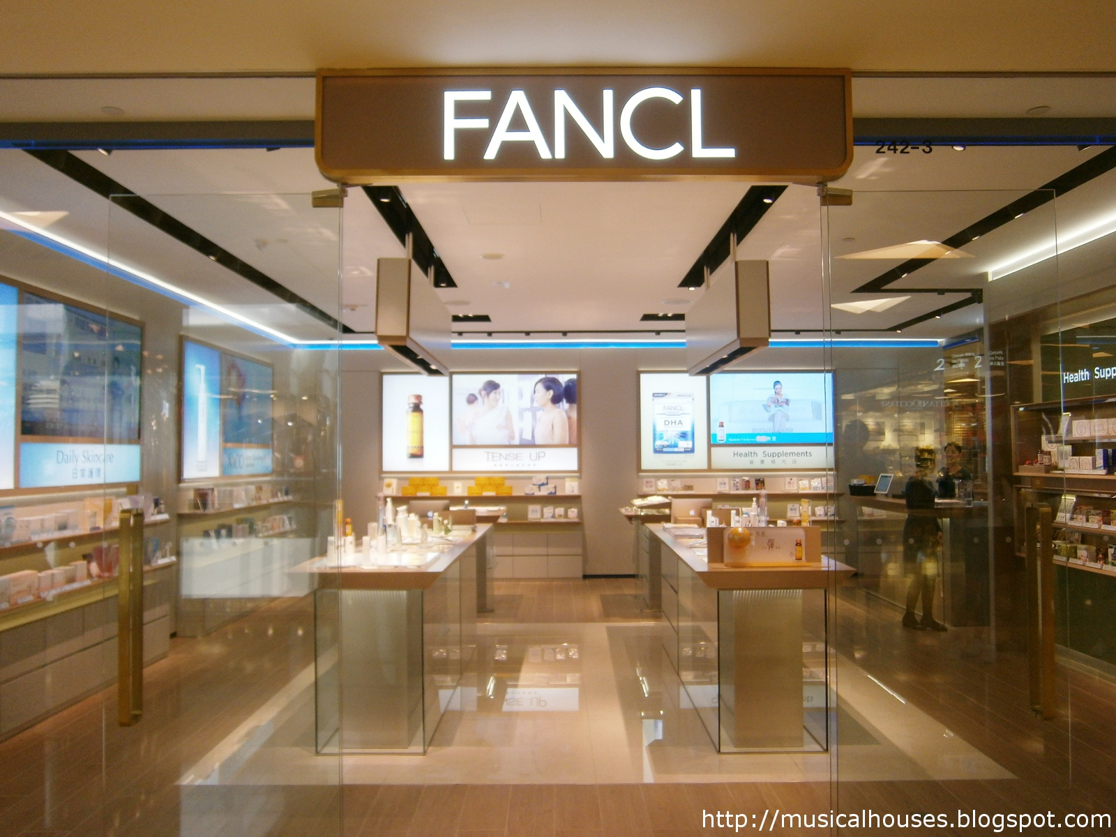 Fancl Hong Kong City Plaza Storefront