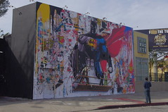 Batman vs Superman Mural