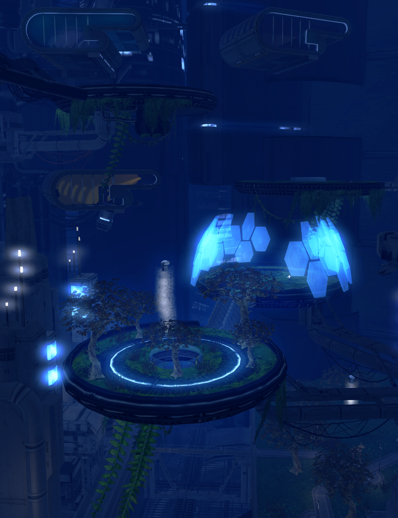 Insilico's hanging gardens