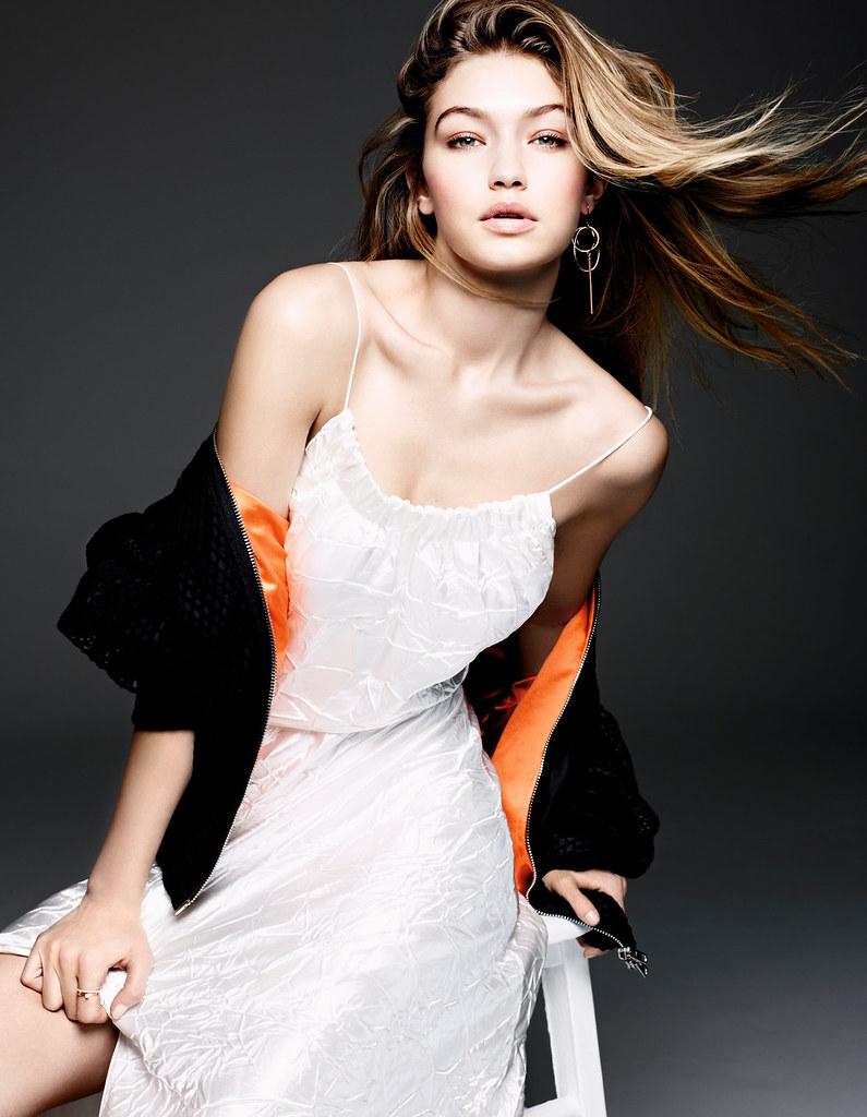 Джиджи Хадид — Фотосессия для «Vogue» CH 2016 – 11