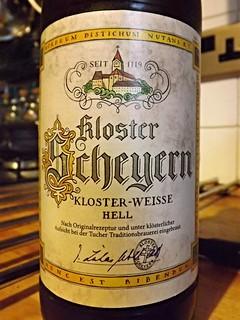 Kloster Brauerei Scheyern, Scheyern Kloster-Weisse Hell, Germany