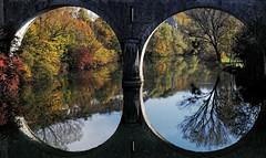 Automne à Cléron / Autumn under the bridge (25, France) - Photo of Palantine
