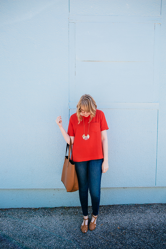 madewell button back shirt7