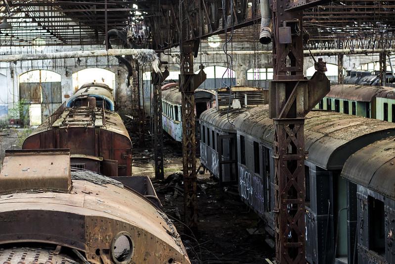 Train Yard - Istvantelek, Budapest