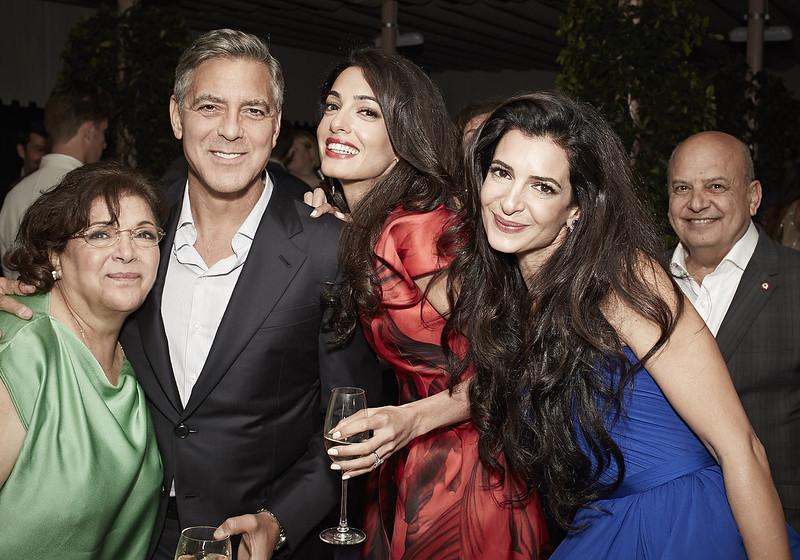 Джордж Клуни женился на Амаль Аламуддин в Венеции