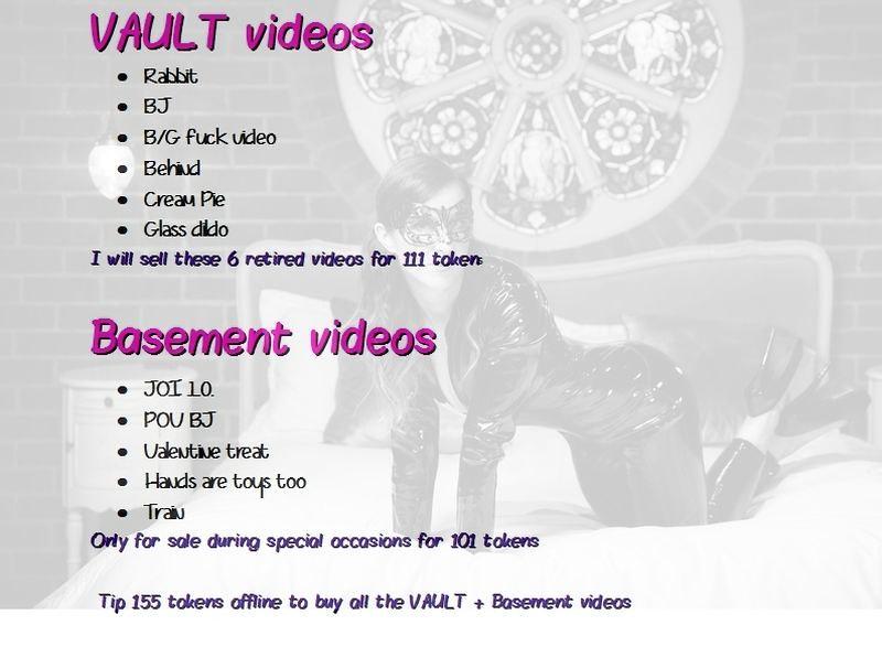 vault + basement