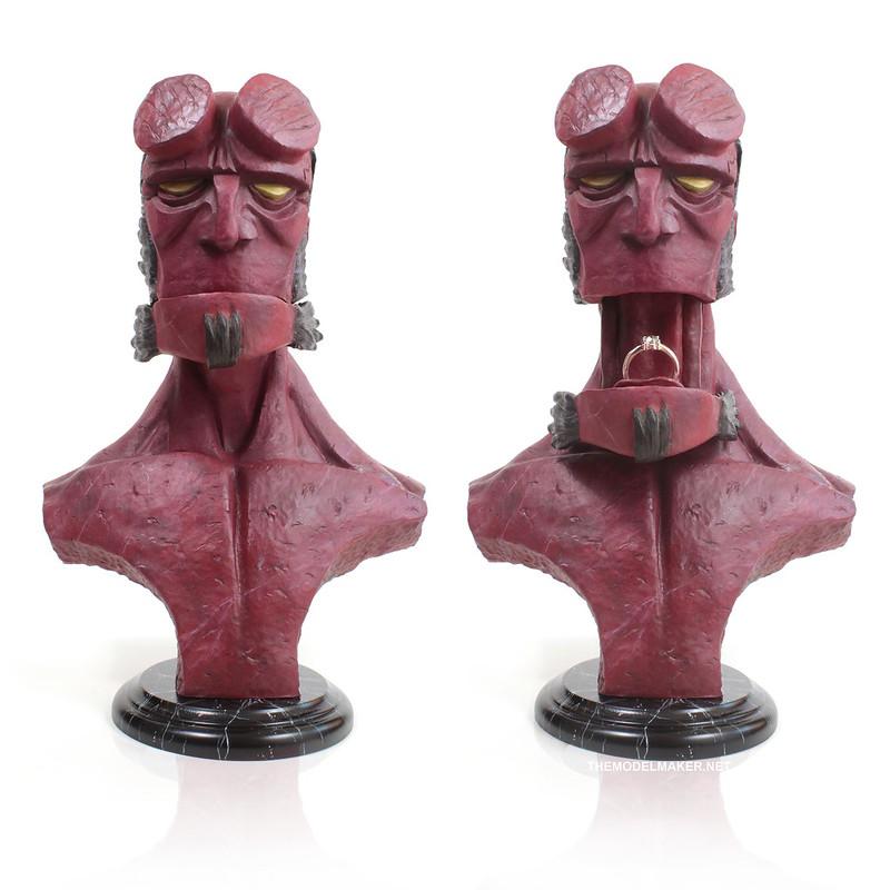 Hellboy Bust 1