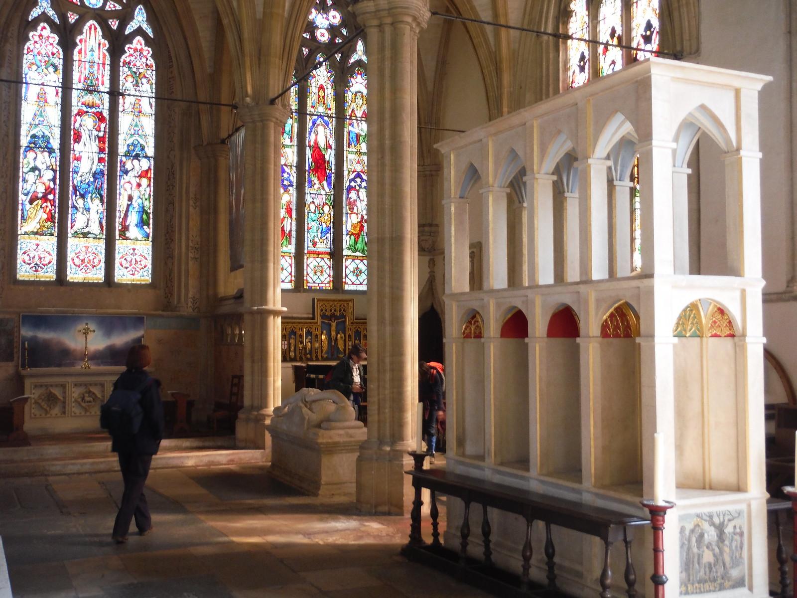 South Chancel Aisle, Dorchester Abbey SWC Walk 44 - Didcot Circular
