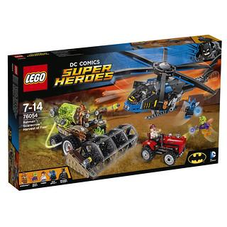 LEGO DC Comics Super Heroes 76054 Batman Scarecrow Harvest of Fear box