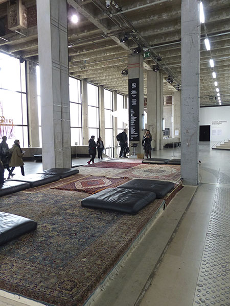 tapis du palais de Tokyo