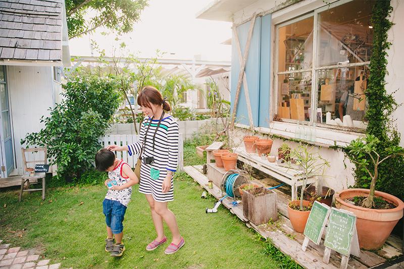 沖繩美食 港川外人住宅oHarcorte 水果塔