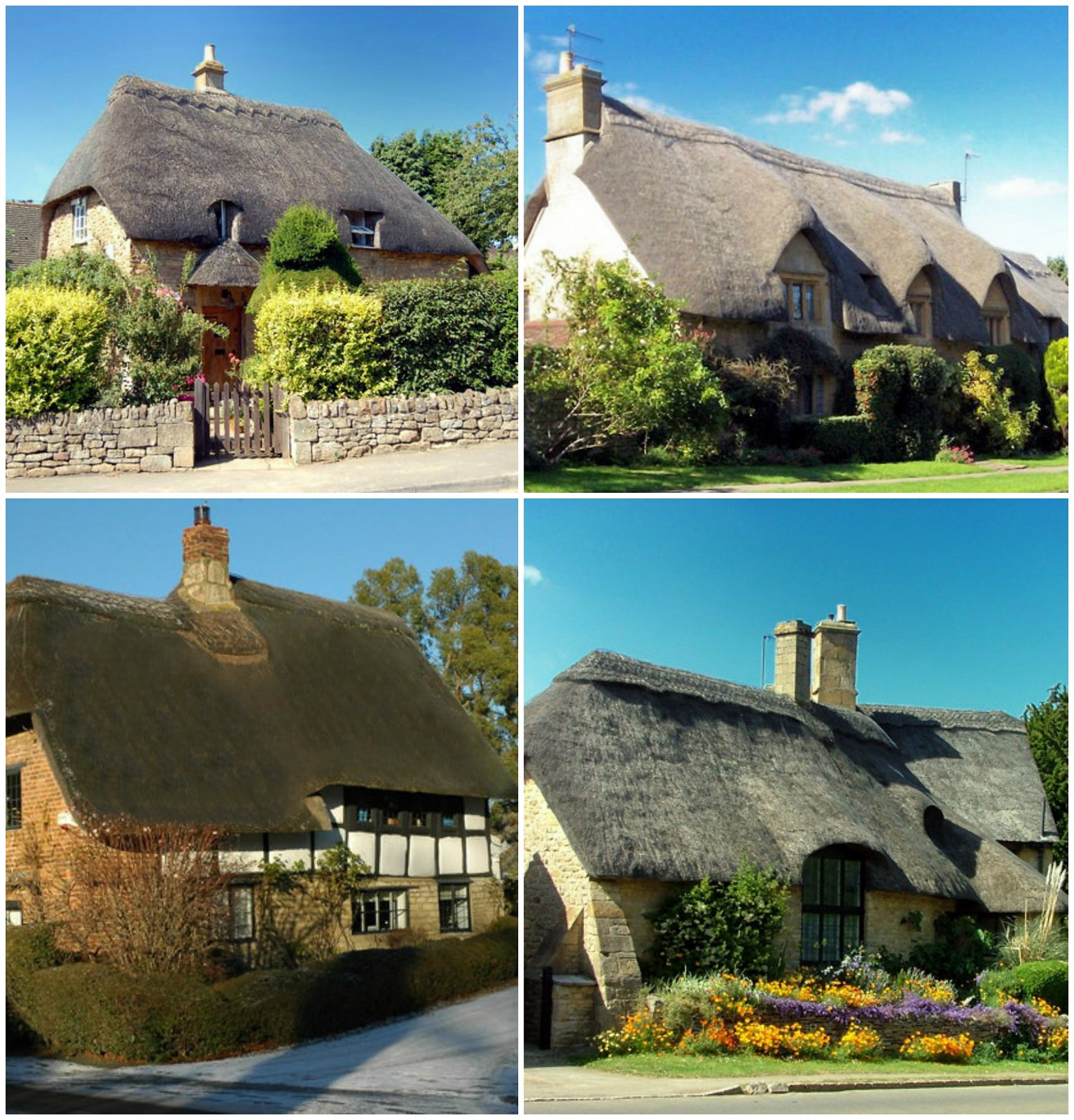Thatched Cottages in Gloucester