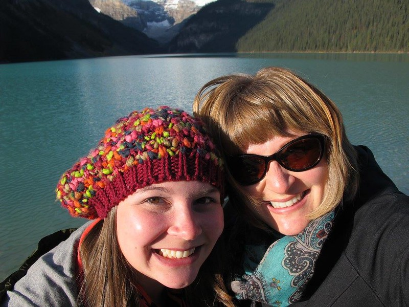 Me and Tammy at Lake Louise