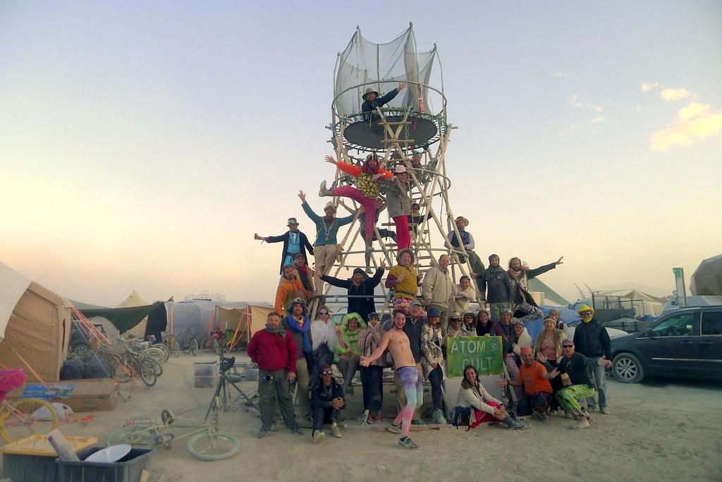 2015 Burning Man - Atom Cult Camp