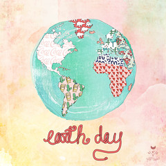 Earth Day Illustration: How the Fashion Industry Needs to Return to Natural Handmade Textiles to Save the Environment