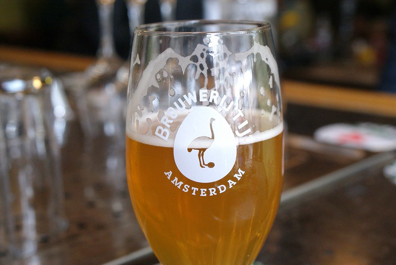 > Una birra locale Amsterdam: Brouwerij 't IJ.