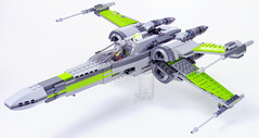 T-70 X-Wing in Lime
