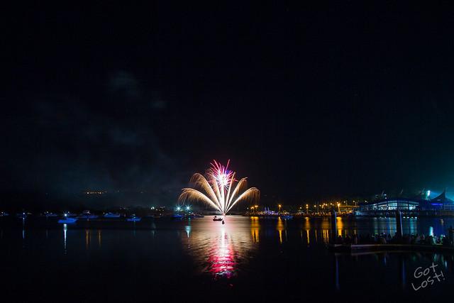 Gosford NYE Fireworks