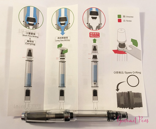 Review: TWSBI Vac Mini Fountain Pen - Broad @CouronneduComte @TWSBI