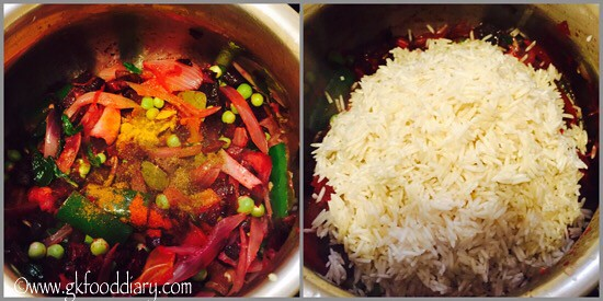 Beetroot Pulao Recipe for Babies, Toddlers and Kids - step 5
