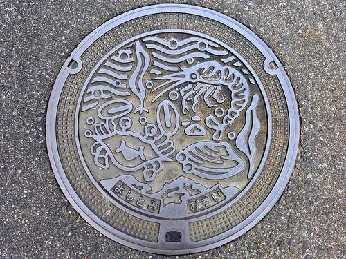 Yoshitomi Fukuoka, manhole cover (福岡県吉富町のマンホール)