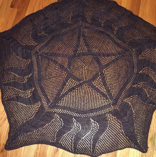 Supernatural shawl