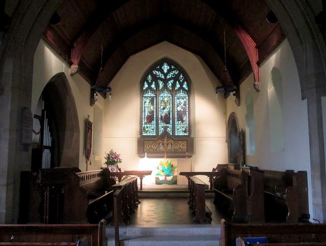 Bladon Church Interior 1
