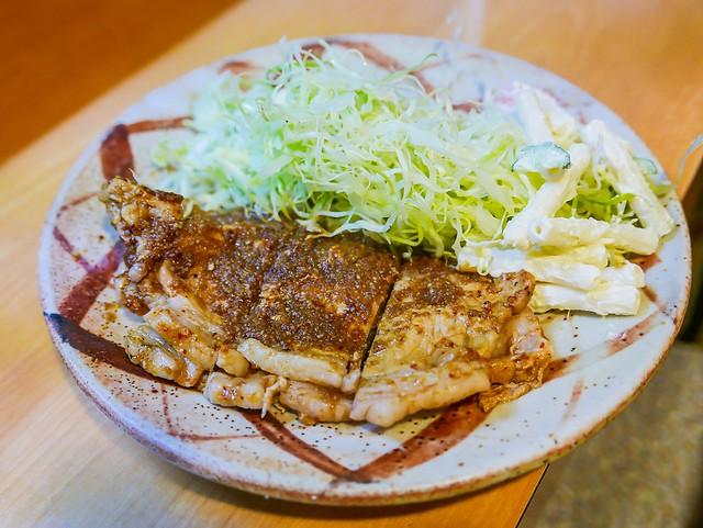 【孤獨的美食家地圖+實訪之七】【東京-中野區美食】中野區鷺ノ宮的蒜味煎豬排:みやこや