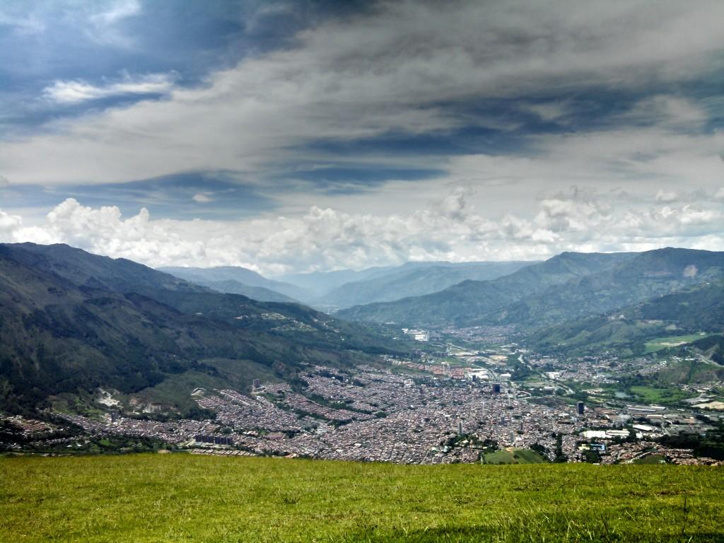 Medellin Paragliding Launch Site