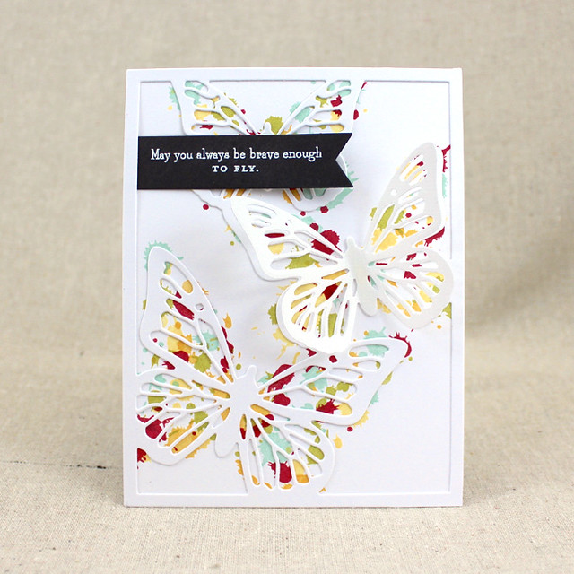 Brave Enough To Fly Card