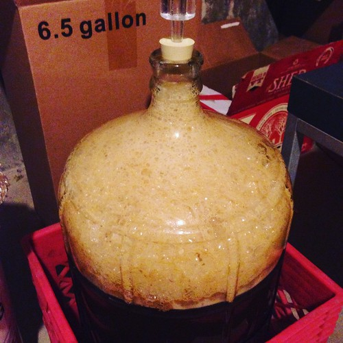 Holy krausen! +52 hours #homebrewing