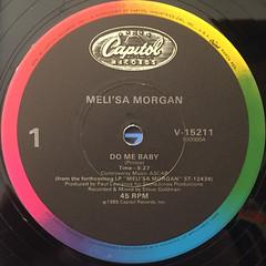MELI'SA MORGA:DO ME BABY(LABEL SIDE-A)