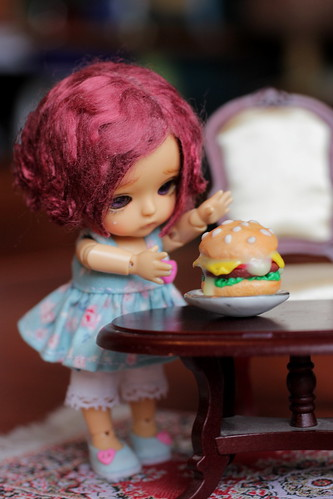 A Doll a Day Feb'16/ day 13/ snack