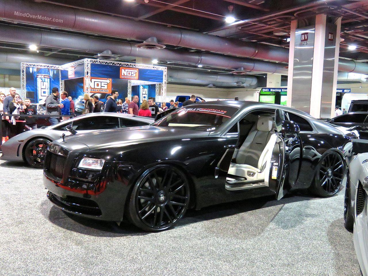 Philly Auto Show 2016 Rolls Royce Wraith