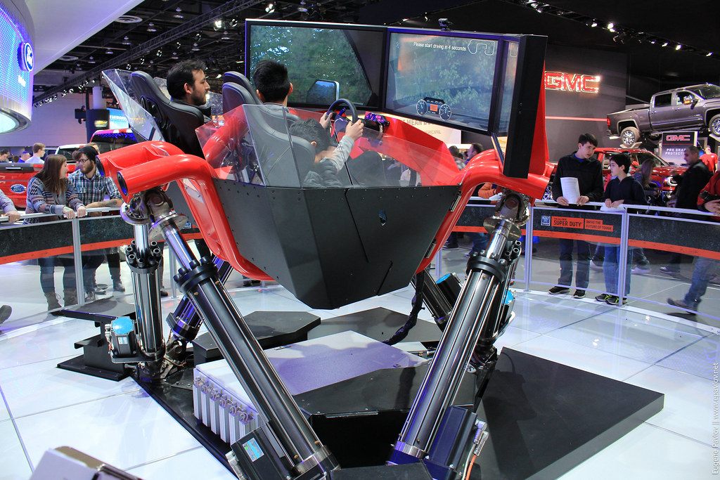 Simulator Ford offroad