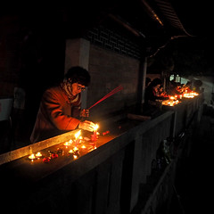 Buddhist ceremony.(_2042227_2)