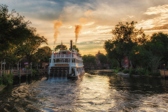 Steaming to the Sunset
