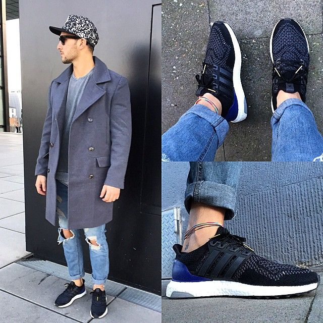 Adidas Ultra Boost Black With Jeans usapokergame.co.uk