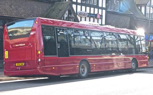 National Express West Midlands 7030 Scania K230UB OmniCity SP10 CWW