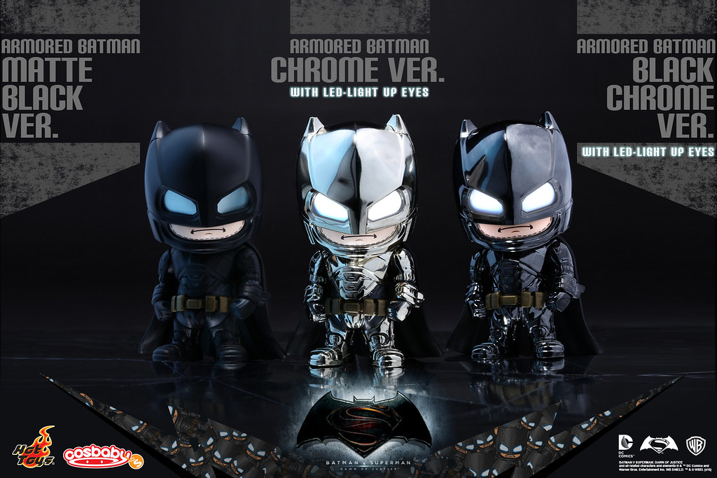Hot Toys – COSB229-231 –【重裝蝙蝠俠:特別上色版】Armored Batman Cosbaby