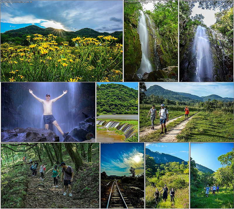 Cachoeira do Angico em Santa Maria RS- Clube Trekking Santa maria RS