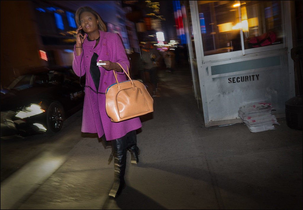 On West 33rd St.  NYFW 2-2016