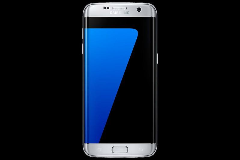 Samsung Galaxy S7 Edge - Silver Titanium - Front