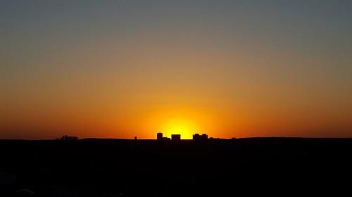 bartlesville sunset cloudsstormssunsetssunrises galaxys6 minimalism