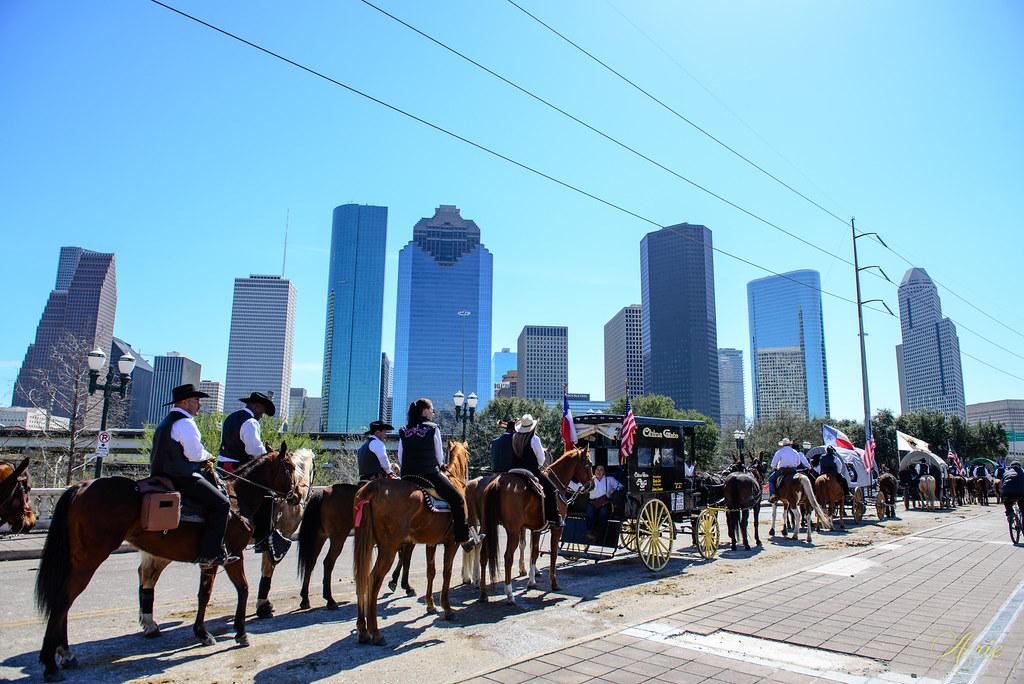 Houston Dowtown Rodeo Parade 2016