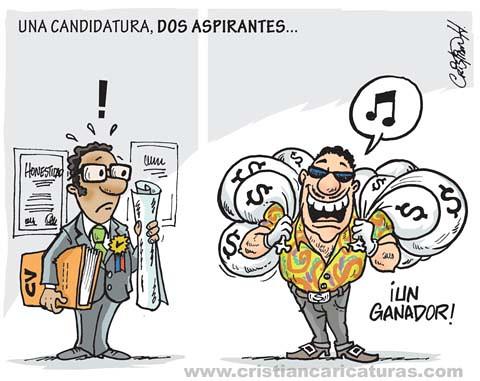 Candidato seleccionado