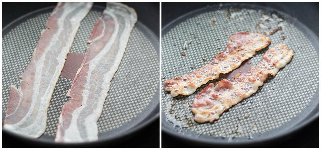 Breakfast Panini - Panini med æg og bacon
