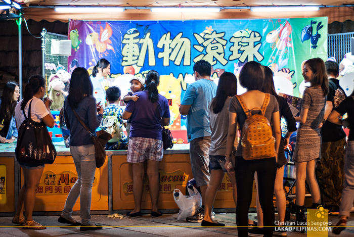 Macau Food Festival Games Area